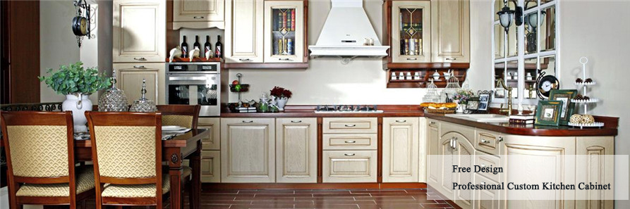china custom modular kitchen cabinet
