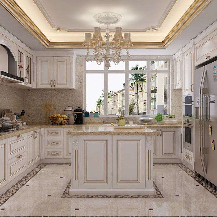 Modern Simple European Style Kitchen, Kitchen Cabinets Made In China Reviews