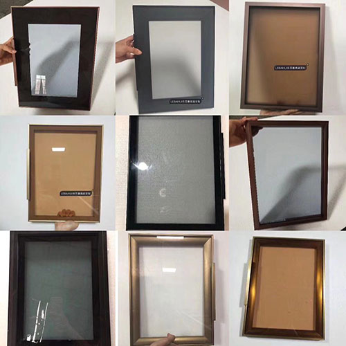aluminum frame wardrobe glass door