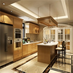 Modern Painting Wood Kitchen Cabinets